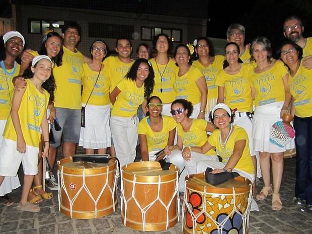 Grupo é composto por 30 integrantes de vários regiões do Brasil. (Foto: Roberta Duarte/Arquivo pessoal)