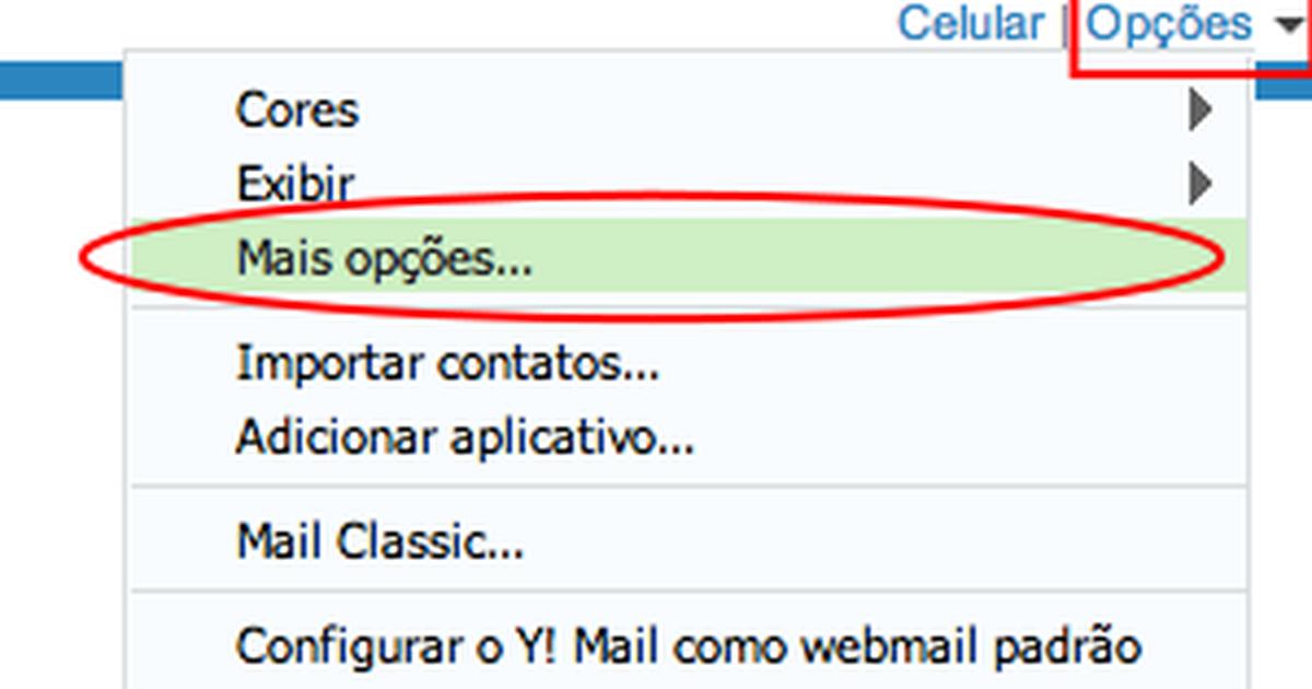 cc6023644 Mail para receber e-mails de outras contas - notícias em Tecnologia e Games