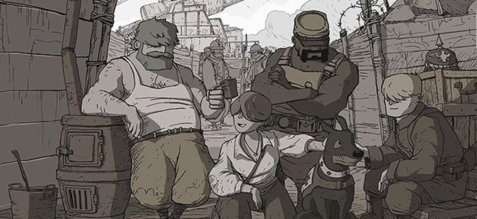 Valiant Hearts: The Great War conta com quatro personagens principais. (Foto: Divulgação)