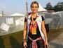 'É minha primeira vez', diz Christine Fernandes sobre ida a festival
