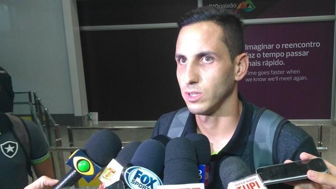 Gatito Fernández, Botafogo (Foto: Thiago Lima)
