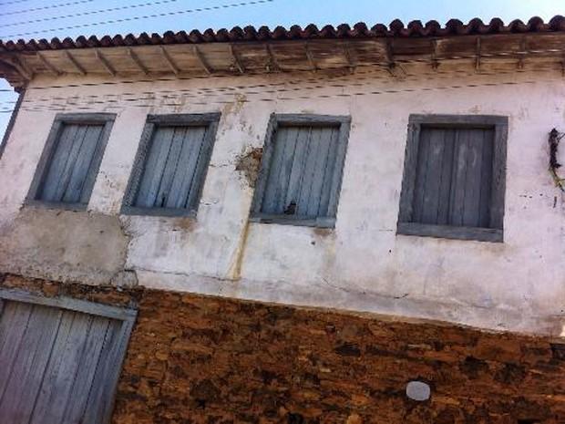 Justiça determina restauração do Casarão do Vira-Saia em Ouro Preto  (Foto: Ministério Público/Divulgação)