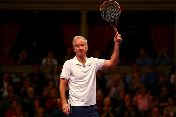 O ex-tenista John McEnroe, hoje com 58 anos  (Foto: Getty Images)