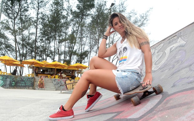 Angela Souza (Foto: Isac Luz / EGO)