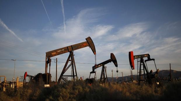 Extração do gás de folhelho (Shale) (Foto: Getty Images)