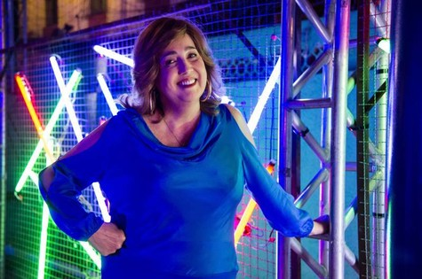 Claudia Jimenez será dona de bar em série (Foto: Ellen Soares/ TV Globo)
