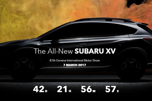 Novo Subaru XV será revelado no Salão de Genebra (Foto: Reprodução)