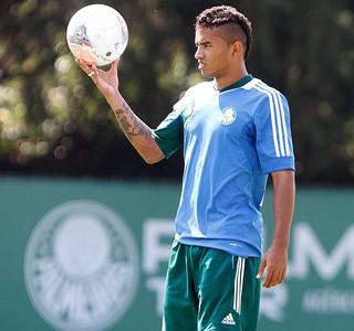 Bruno Oliveira treino Palmeiras (Foto: Reginaldo Castro/Agência Estado)
