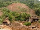 Temporais causam dezenas de deslizamentos em Santa Catarina