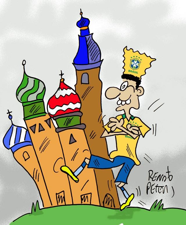 BLOG: Partiu, Rússia!