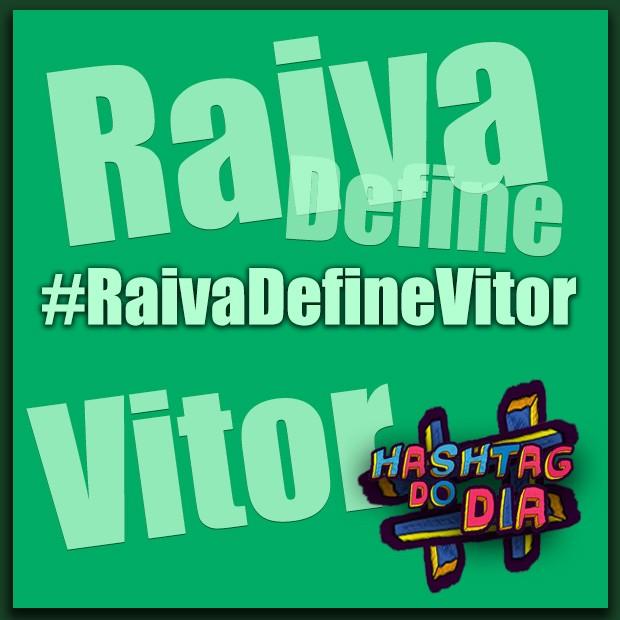 #HashtagDoDia: Raiva Define Vitor (Foto: Malhação / TV Globo)