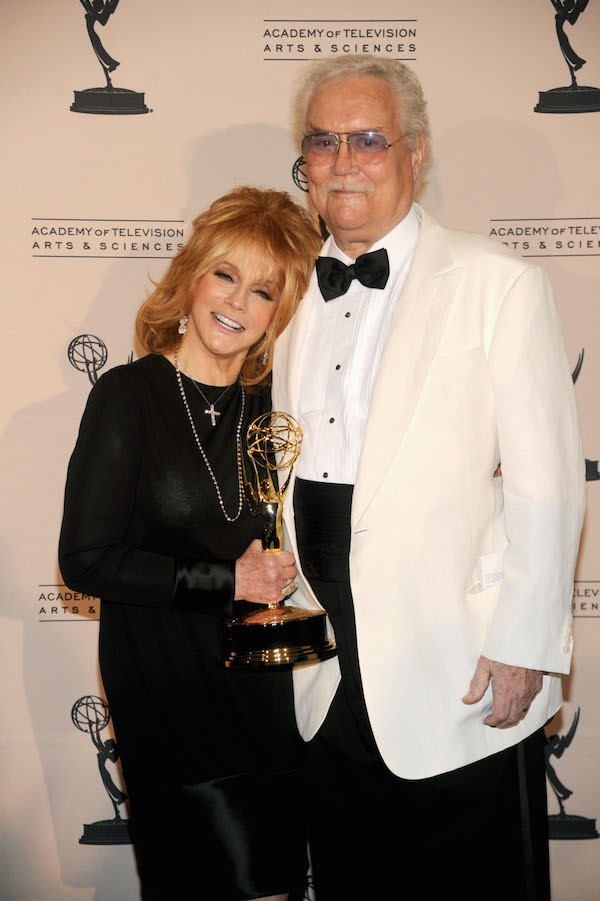 O ator Roger Smith com a esposa, a atriz Ann-Margret (Foto: Getty Images)