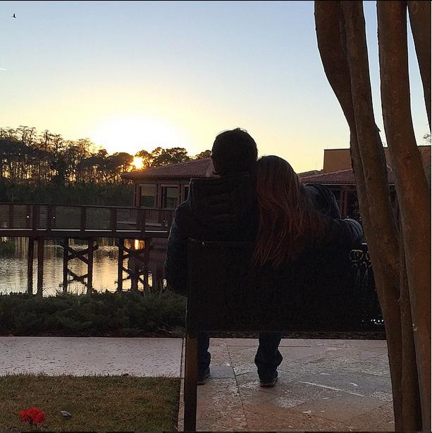 Kaká e Carol Celico (Foto: Reprodução/Instagram)