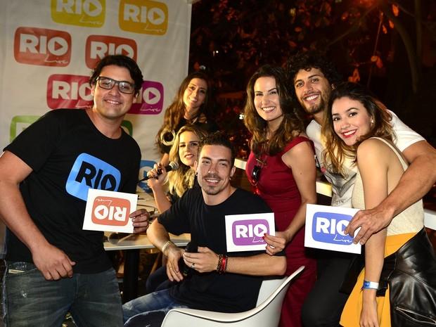 Famosos Evento Rio Live, RT (Foto: Roberto Teixeira / Ego )