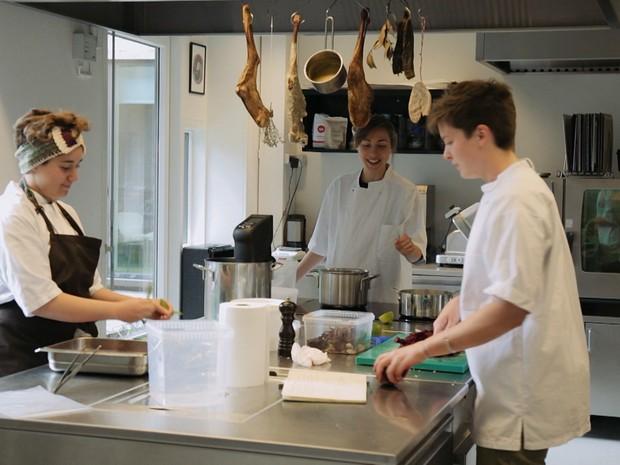 Pedro Pelo Mundo - Ep. 5 - Dinamarca - Nordic Food Lab (Foto: Reproduo / GNT)