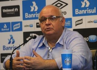 Romildo Bolzan jr presidente Grêmio (Foto: Eduardo Moura/GloboEsporte.com)
