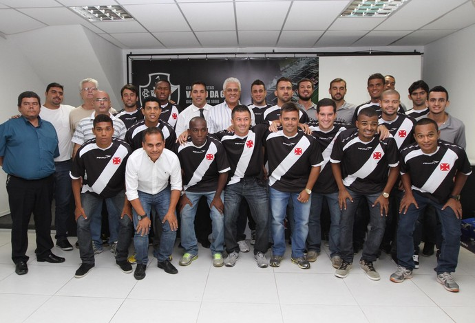 Apresentação Vasco futebol 7 (Foto: Marcelo Sadio/Vasco da Gama)