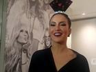 Em vídeo exclusivo, Claudia Leitte canta trecho de música de trabalho