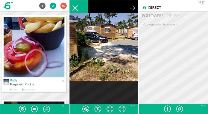 6sec é um cliente Vine completo para Windows Phone com suporte a mensagens privadas (Foto: Divulgação/Windows Phone Store)