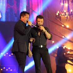 Leonardo e Eduardo Costa (Foto: Jamile Alves/G1 AM)