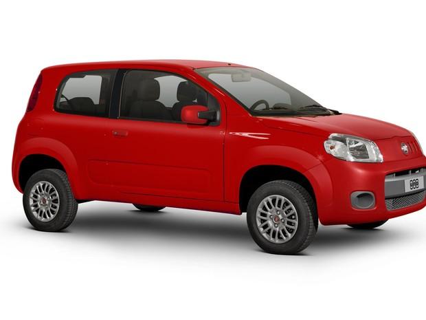 Fiat Uno Vivace (2 portas) (Foto: Divulgação)