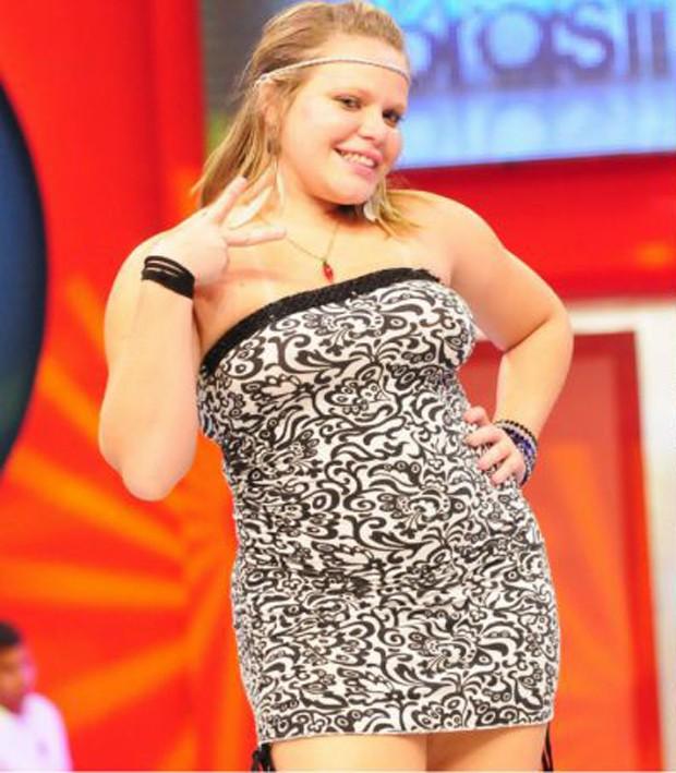 Paulinha Leite na época do Big Brother Brasil (Foto: Reprodução)