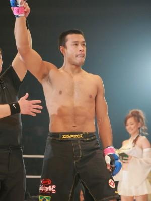 Andrews Nakahara lutador de MMA (Foto: Foto: Divulgação)