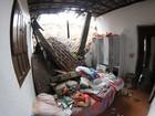Chuva derruba barreira e deixa duas crianças levemente feridas no Recife
