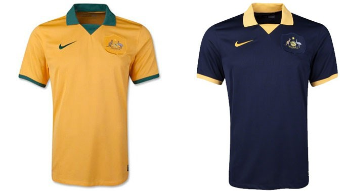 camisa australia 69 Every single World Cup kit (all 32 teams, home & away) on one page