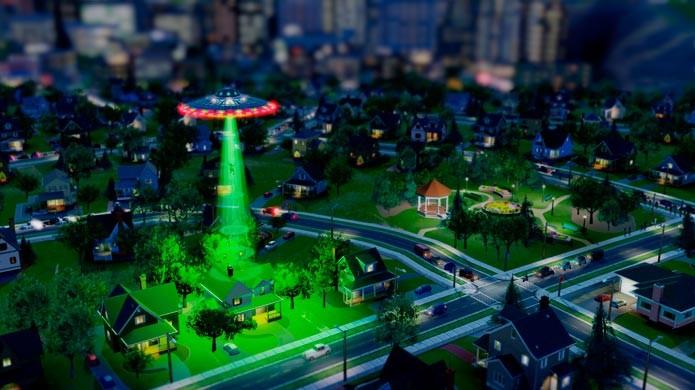 Aliens e monstros também podem destruir a cidade (Foto: Divulgação)