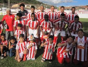 Jogadores do Villa Nova (Foto: Divulgação / Assessoria do Villa Nova)