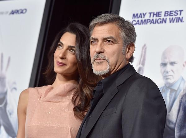 O ator George Clooney e sua esposa, Amal Alamuddin (Foto: Getty Images)
