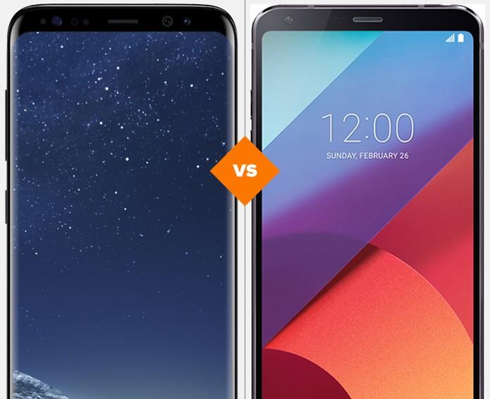 d498b4cac Galaxy S8 ou LG G6  veja qual celular se sai melhor em comparativo (Foto