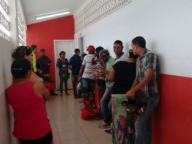 Eleição ocorreu com tranquilidade em Luís Gomes, RN (Foto: Ivanúcia Lopes/Inter TV Cabugi)