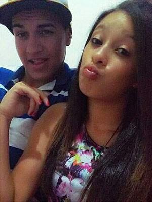 Edson e a namorada, Isabele, foram mortos e enterrados em quintal de casa na Bahia (Foto: Divulgação)