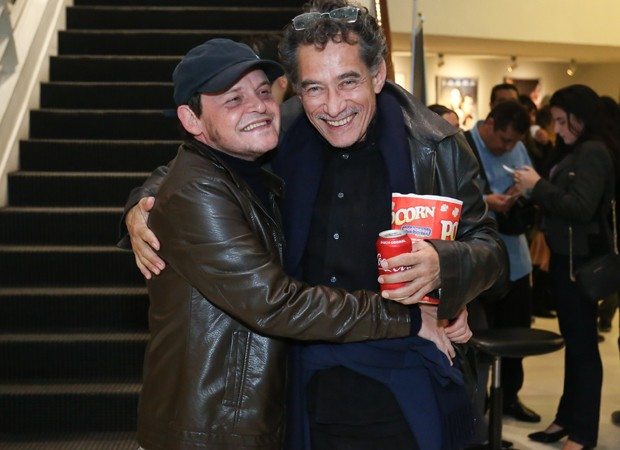Matheus Nachtergaele e Chico Diaz (Foto: Roberto Filho/Brazil News)