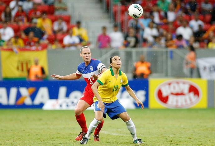Marta Brasil x EUA (Foto: Getty Images)