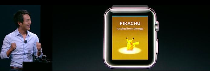 Pokémon Go chega ao Apple Watch até o final de 2016 (Foto: Reprodução/TechTudo)