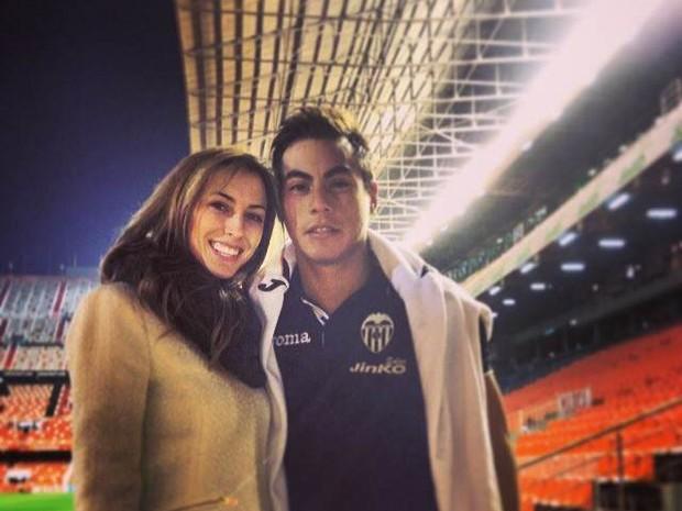 Daniela Colett e Eduardo Vargas (Foto: Instagram / Reprodução)