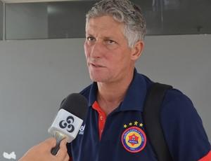 Márcio Bittencourt, treinador do Vilhena (Foto: Jonatas Boni)