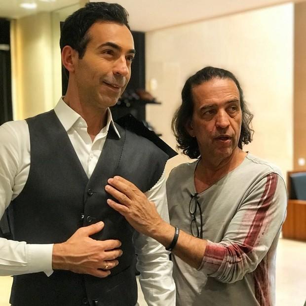 César Tralli e Ricardo Almeida (Foto: Reprodução/Instagram)