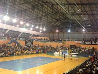 Sorocaba Futsal x Corinthians Itapetininga (Foto: Andressa Borzilo / TV TEM)