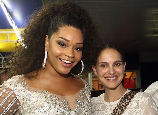 Natalie Portman e Juliana Alves (Foto: Divulgação)