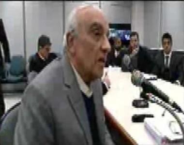 Depoimento do lobista Jorge Luz ao juiz Sérgio Moro em Curitiba (Foto: Reprodução/YouTube)