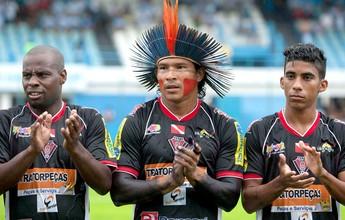 No Pará, time indígena é goleado  por 8 a 0 do 1º Campeão da série D