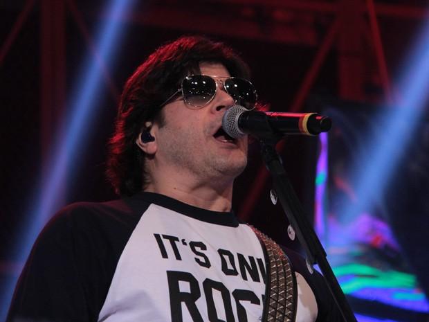 Paulo Ricardo participa da gravação do programa 'Altas Horas' (Foto: Marcos Mazini/Gshow)