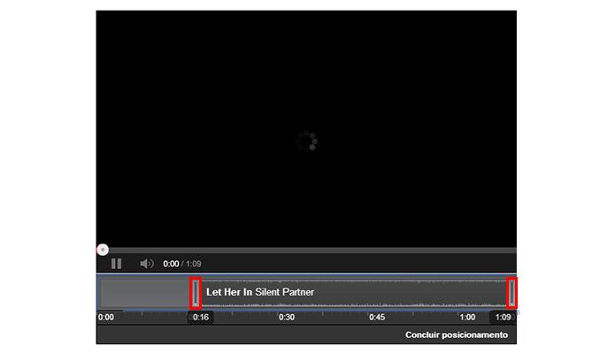 Mova as extremidades do áudio para decidir o momento de entrada e saída da faixa (Foto: Reprodução/Paulo Alves)
