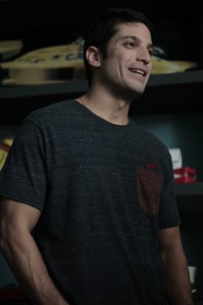 Marco Antônio Gimenez no filme O Último Virgem (Foto: Divulgação)