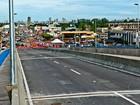 Tráfego de viaduto é liberado a um mês de inauguração em Cuiabá