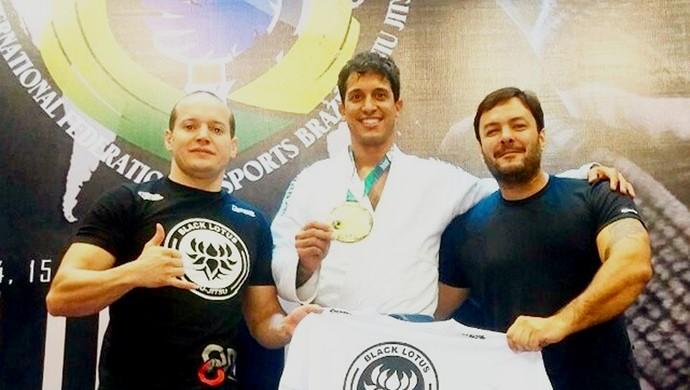 Leonardo Tonani Lutador de Jiu-Jitsu de Bom Despacho (Foto: Gustavo Cardoso/Arquivo Pessoal)